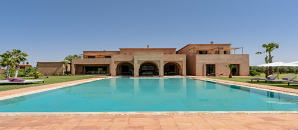 High standing 6 bedroom villa Marrakech